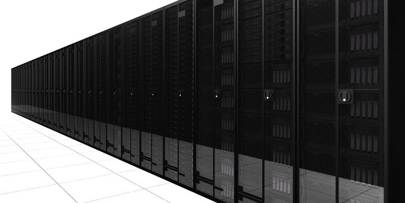 Dedicated server data center l